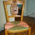 Petite chaise paillée