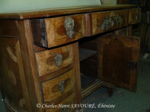 Commode XVIIe dite Mazarine