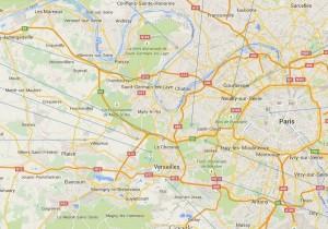 Versailles et Paris