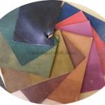 Echantillon de couleur de cuir